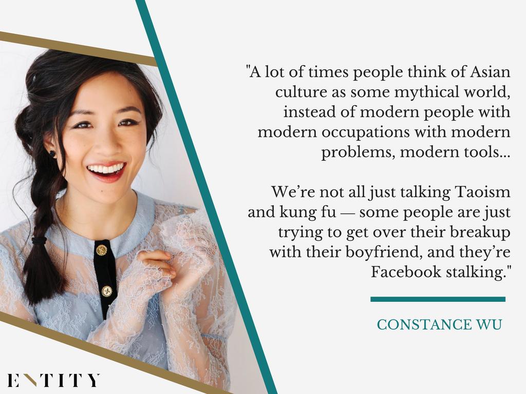 Constance Wu QT on Entity