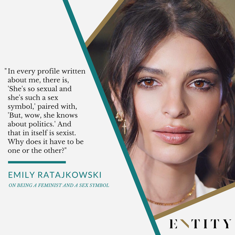 Emily Ratajkowski QT on Entity