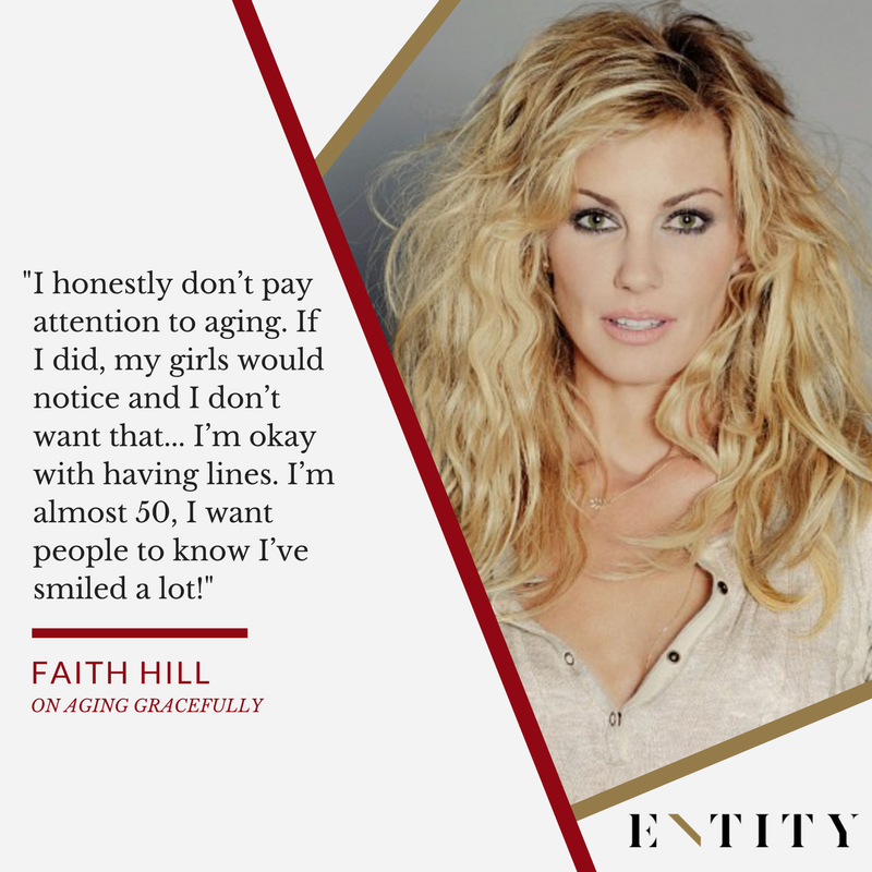 Faith Hill QT on Entity