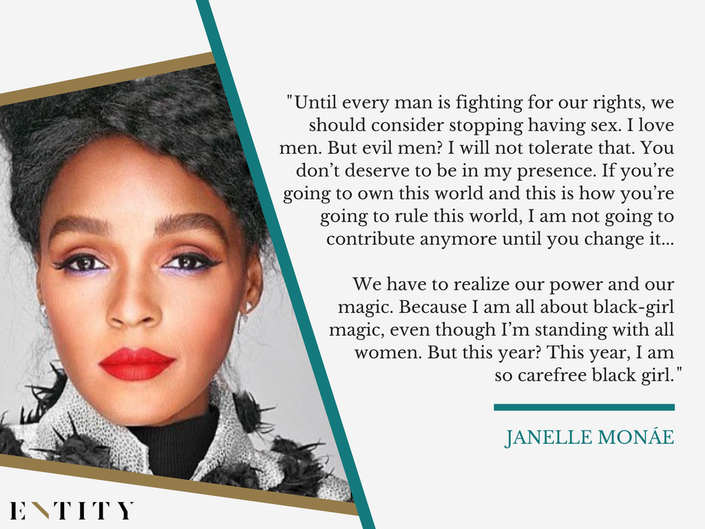 Janelle Monae Will Give up Sex If It Means Men Will.