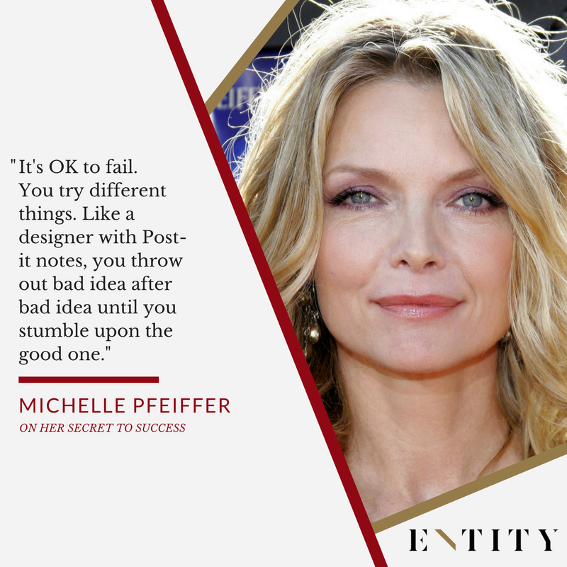 michelle pfeiffer on accepting failure and moving on