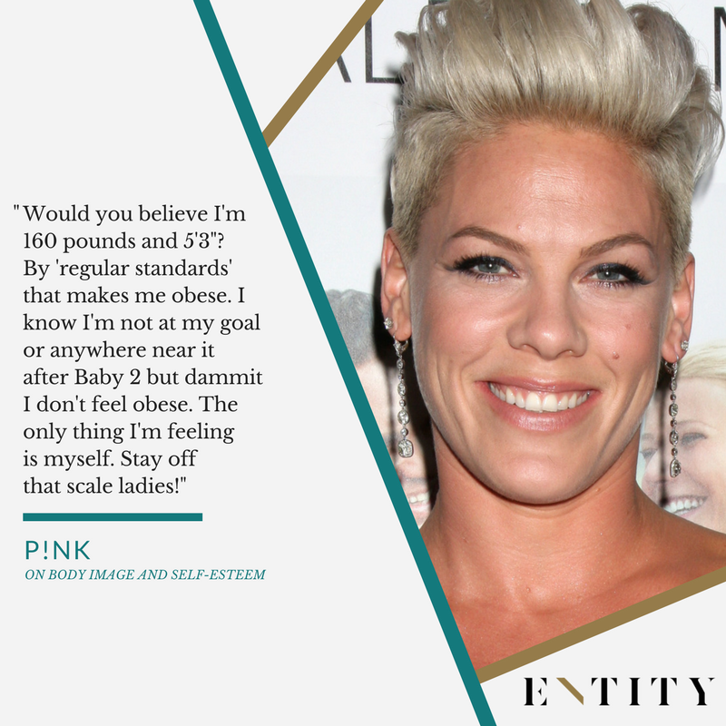 Pink Weighs in on Body Image and Not Caring About Her Size