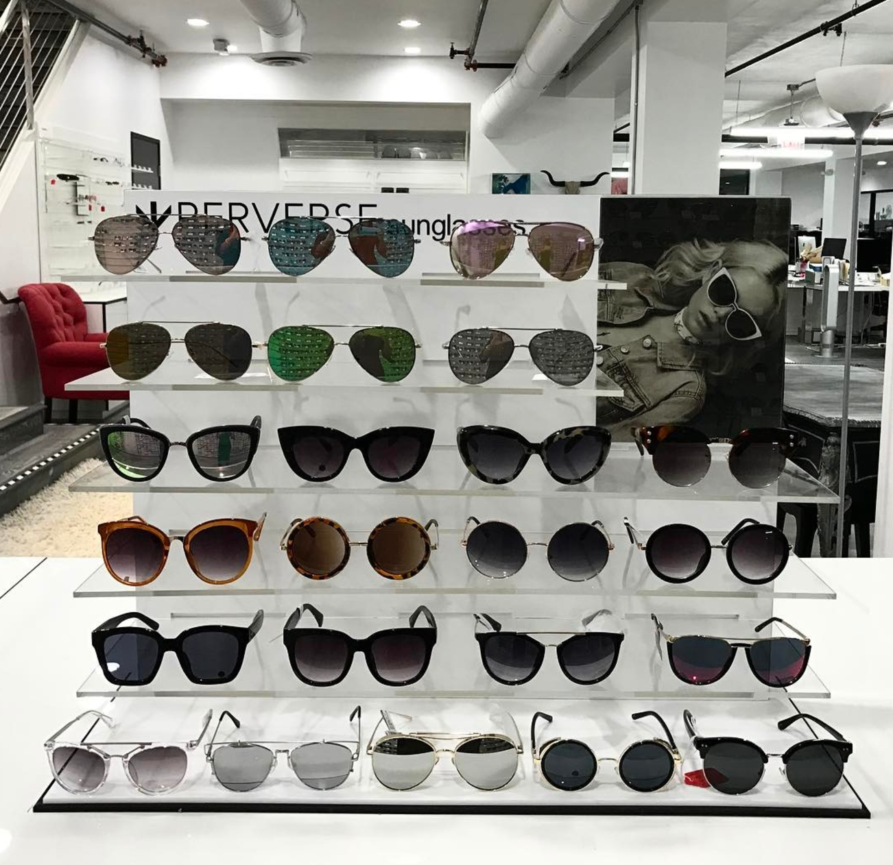 Toni Ko interview, Entity reports on her sunglasses collection