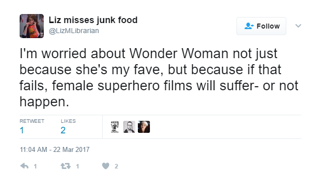 ENTITY explains why the Wonder Woman movie just can't fail.