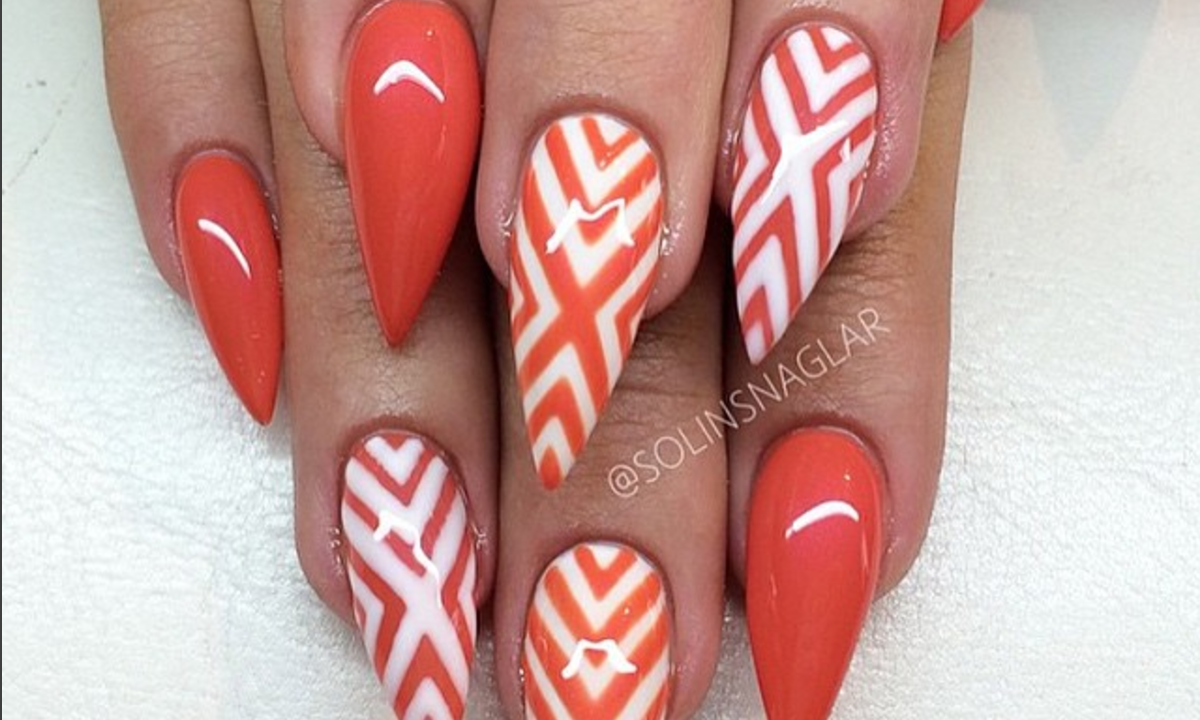 5 Ways to Sport Stiletto Nails for Some Fun in the Sun This Summer