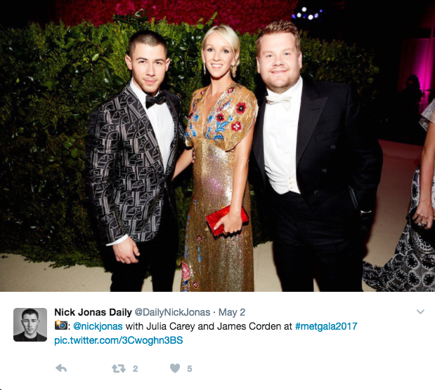 Who Is Julia Carey 5 Facts About James Corden S