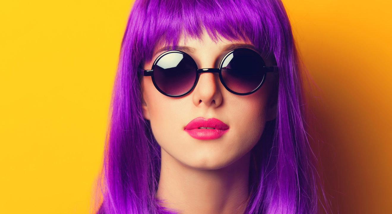 Loving The Dark Purple Hair Trend Here S How To Get