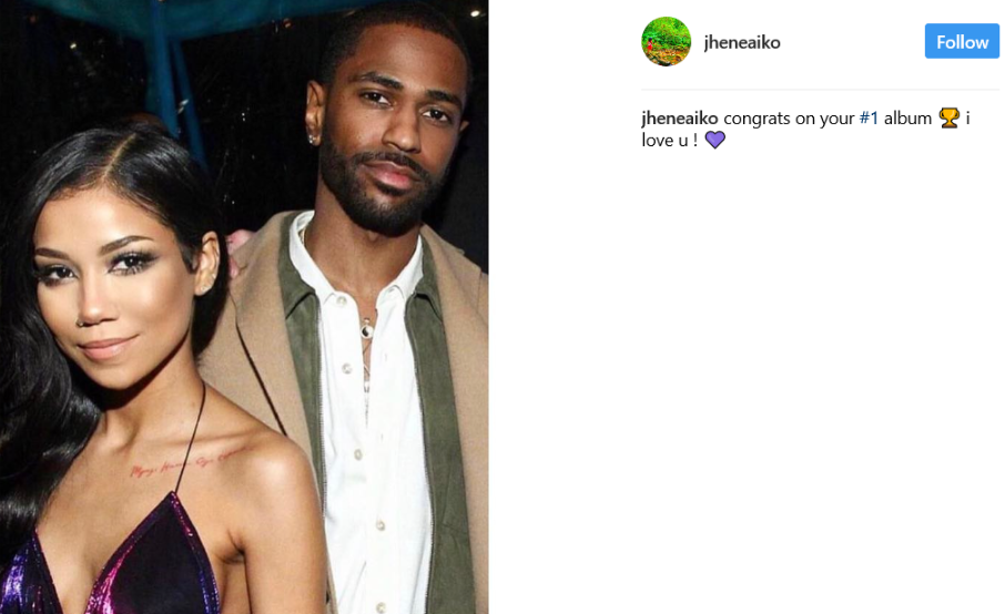 Big Sean and Aiko have been dating for about a year, making it Instagram.