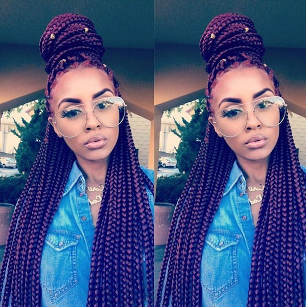 7 Different Box Braids Hairstyles For Black Women Not You Kylie