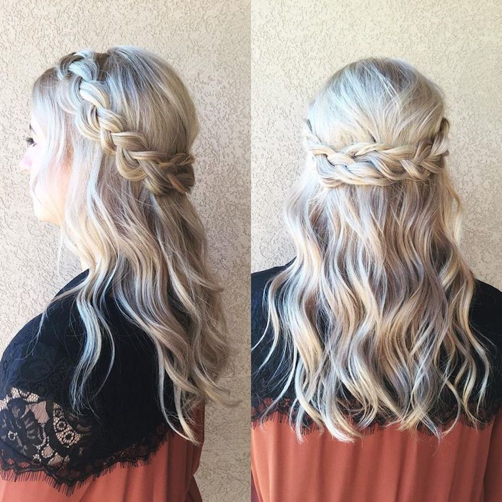 Simple Wedding Hair Ideas: Easy Prom Hairstyles That Anyone And Everyone Can Rock To Prom