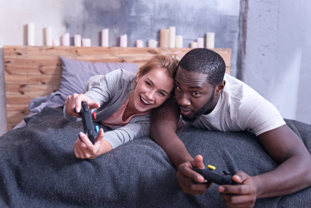 Entity discusses the benefits of video games for couples.
