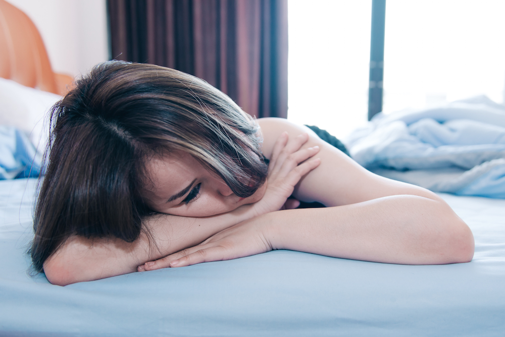 Entity discusses physical symptoms of heartbreak