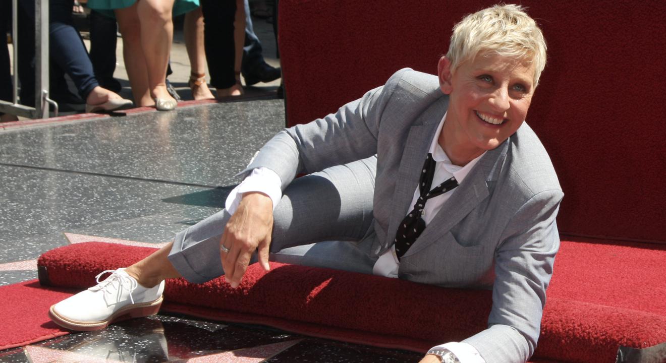 Entity discusses Ellen net worth