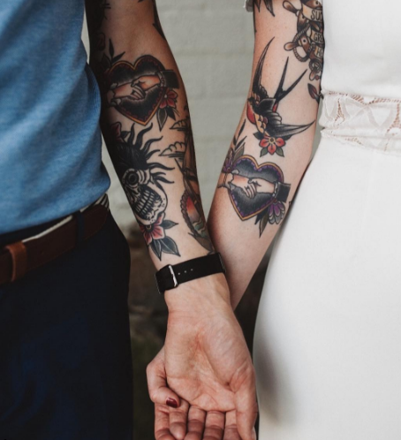 304508024d397 Which Matching Tattoos Are Right for You and Your Plus One?