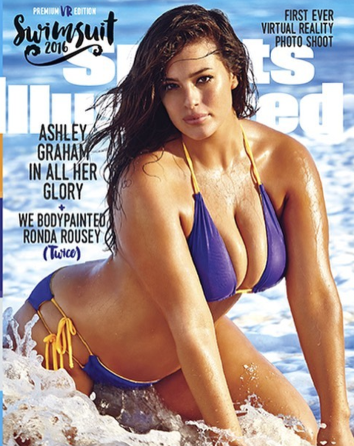 d5bff598b 5 She was the first plus-size model on the cover of the Sports Illustrated  Swimsuit issue.