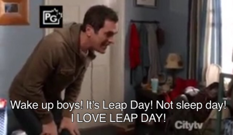 Image result for phil dunphy leap day
