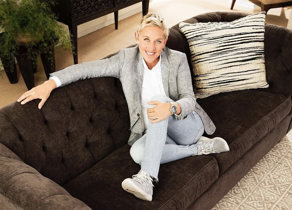 Entity discusses Ellen DeGeneres net worth