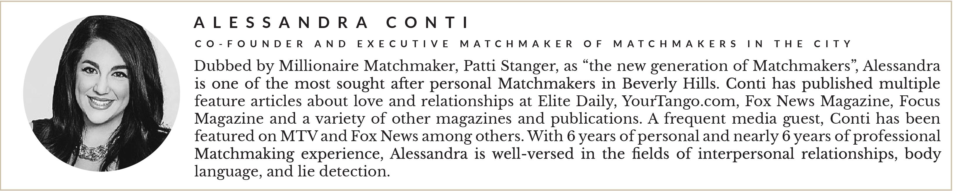 Entity presents Alessandra Conti