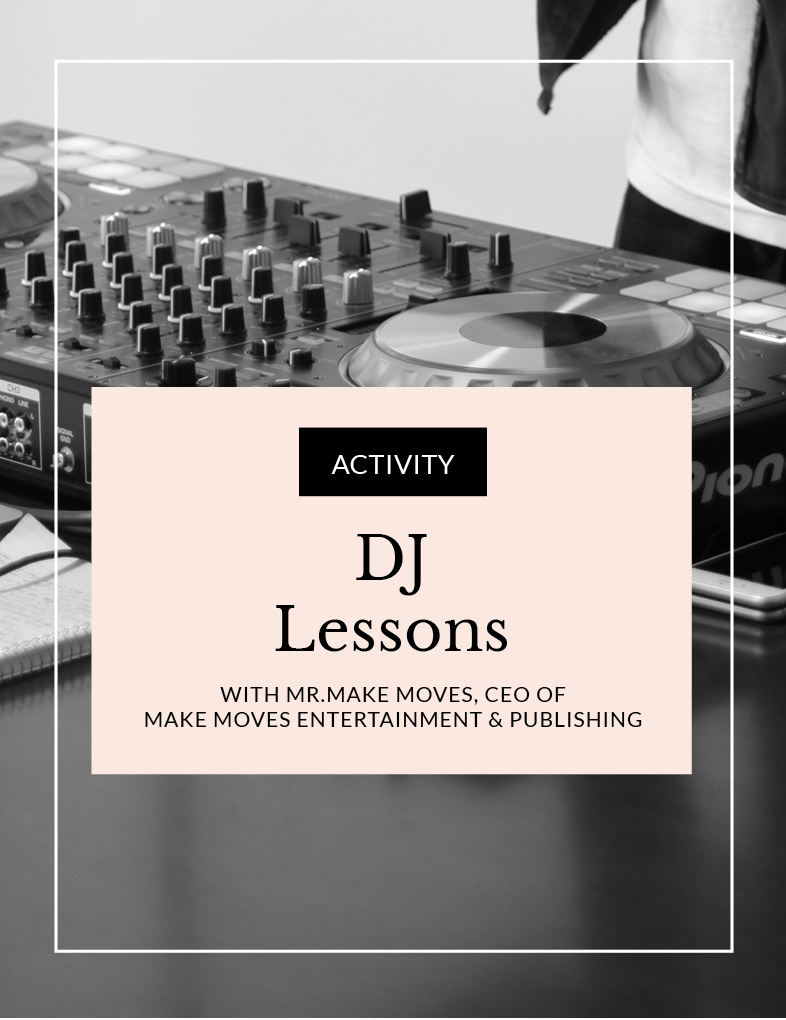 ENTITY DJ Lessons