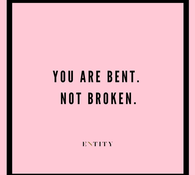 bent not broken strong women