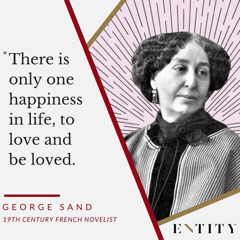ENTITY reports on famous george sand quotes for every situation.
