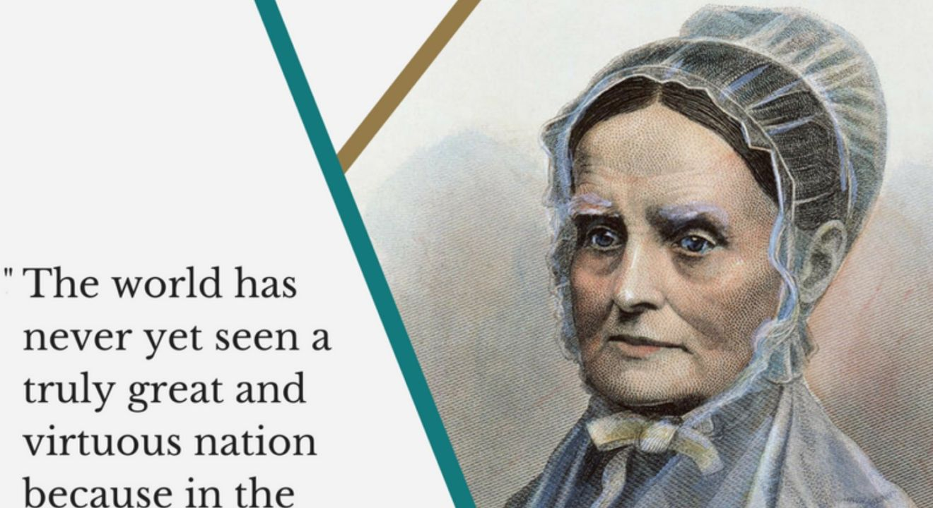 Bring Back Slavery >> Lucretia Mott's Quotes Remind Us to Keep Fighting for Our Rights