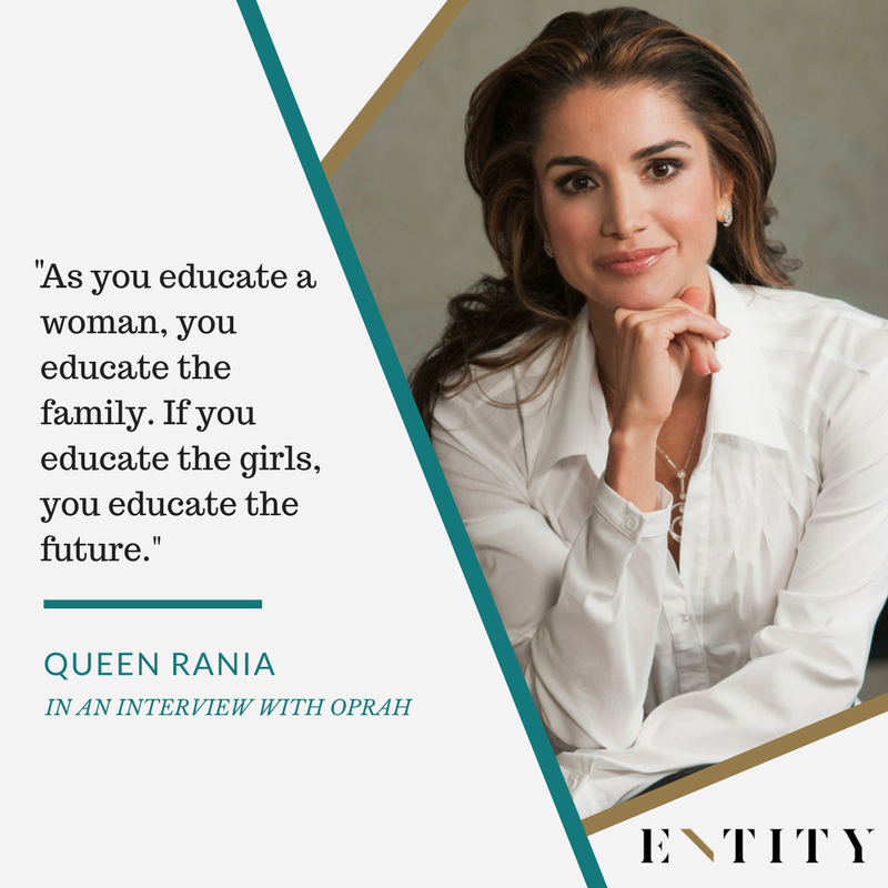 Image of: Friendship 13 Famous Queen Rania Quotes That Portray The Ultimate Real Life Queen Entity Mag 13 Famous Queen Rania Quotes That Portray Real Life Queen