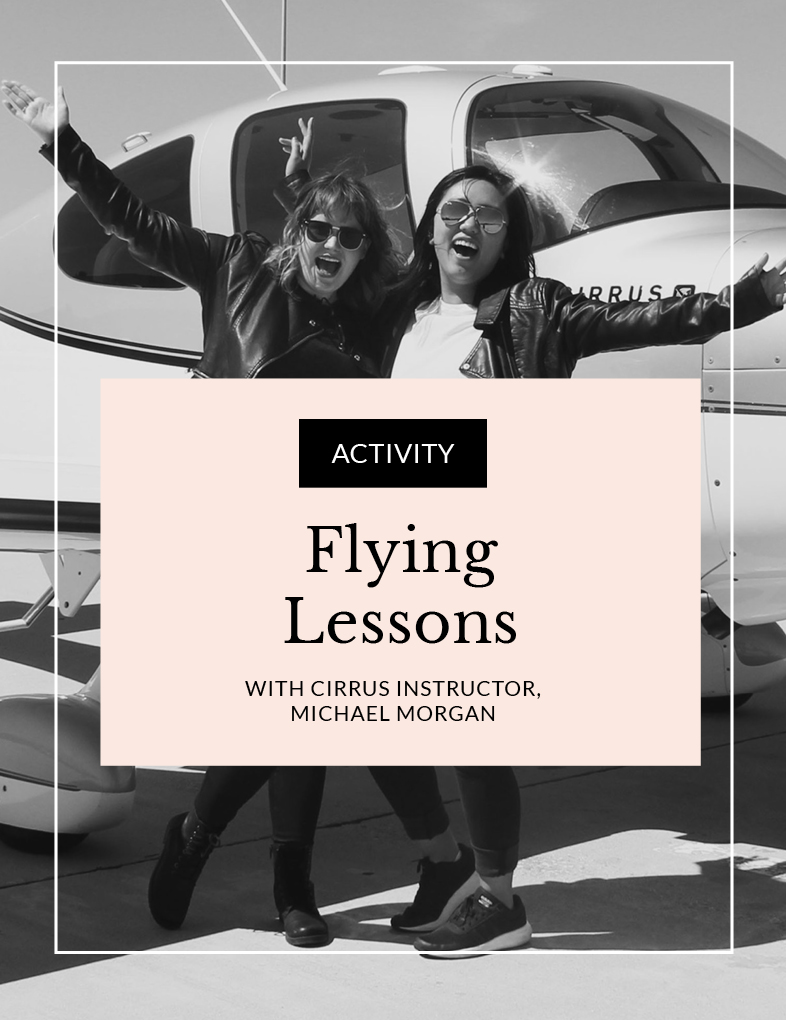 Entity presents Flight Lessons with Mike Morgan