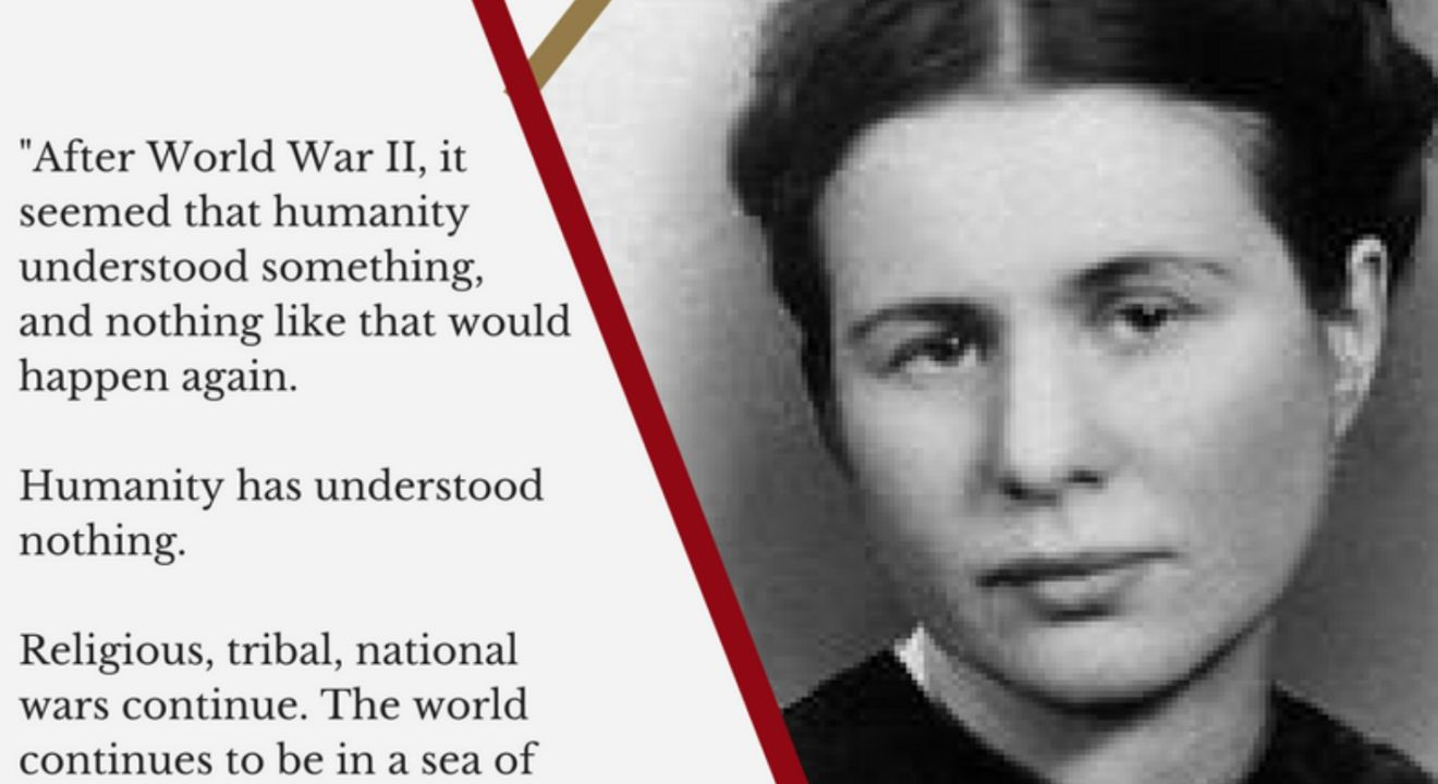 7 Irena Sendler Quotes That Show Us What It Means To Help Others