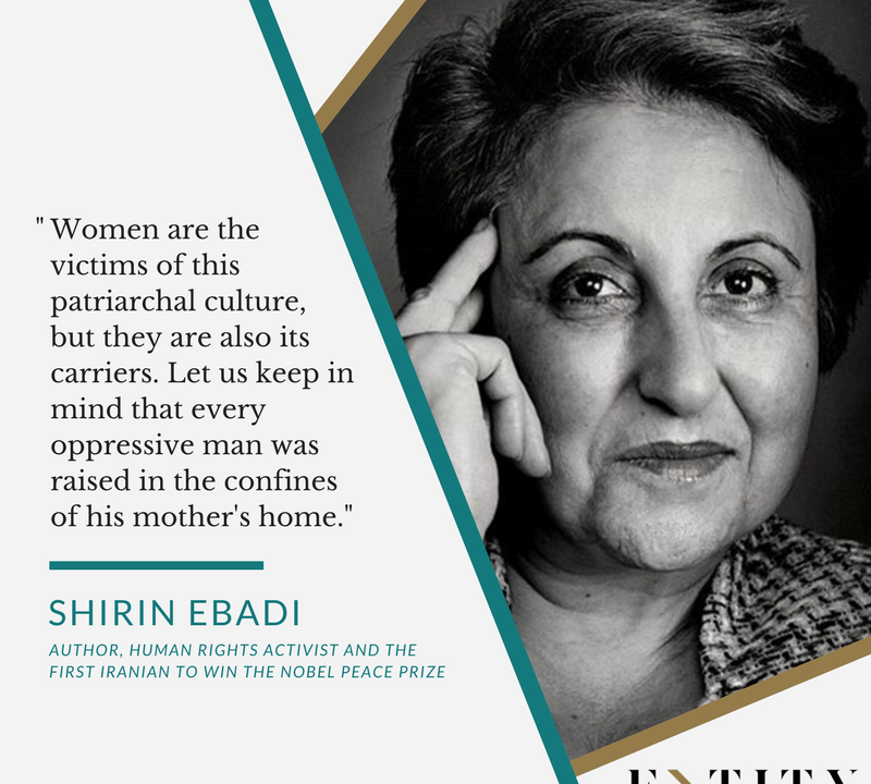 60 Shirin Ebadi Quotes That Portray The Resilience Of Women Gorgeous Womens Rights Quotes