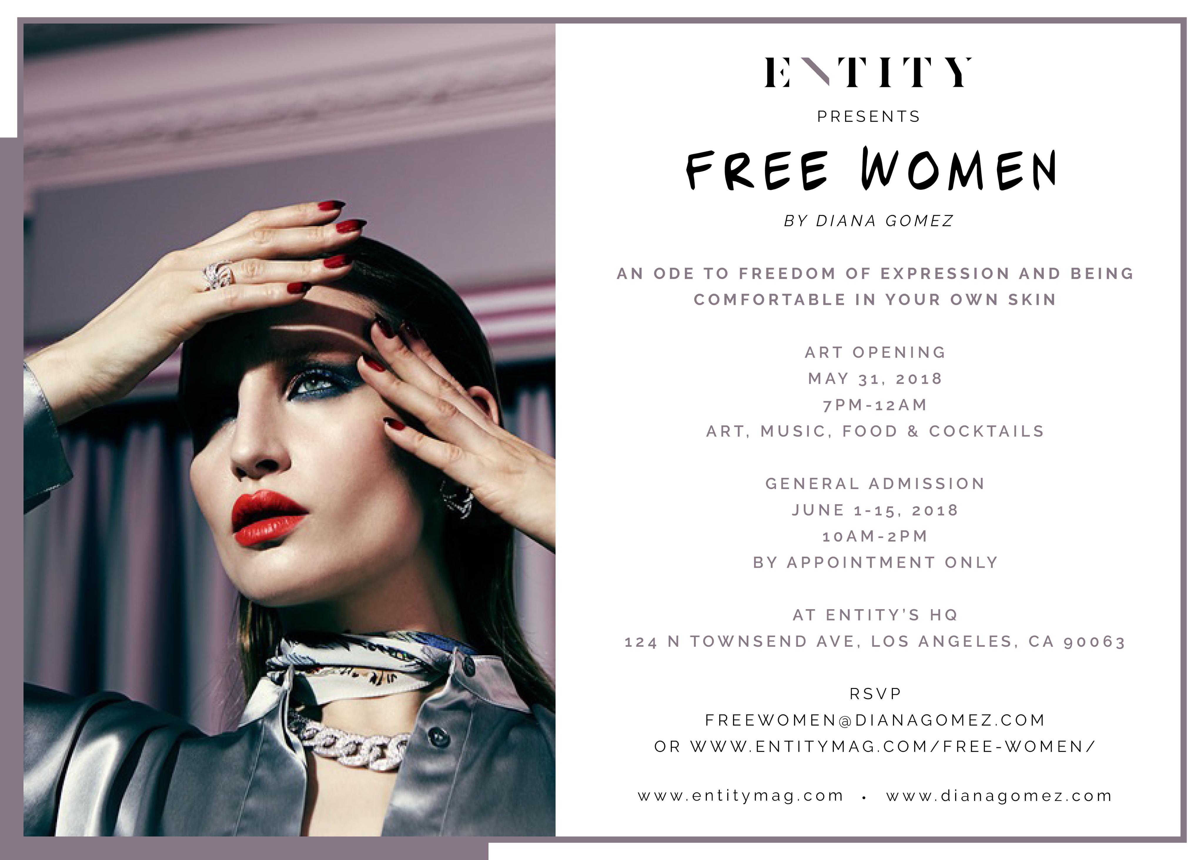 ENTITY x FREE WOMEN ADMISSION