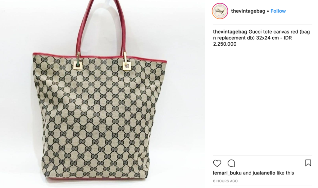 7006214b4a02 31 The Vintage Bag. ENTITY gives 50 Instagram brands for women.