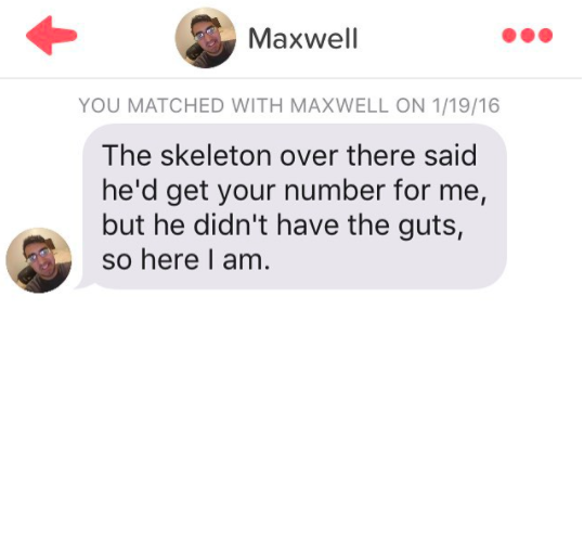 Cheesy Tinder Pick Up Lines To Make You Laugh (in Your Head)
