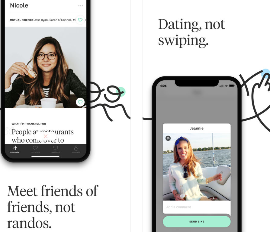 ENTITY talks dating apps