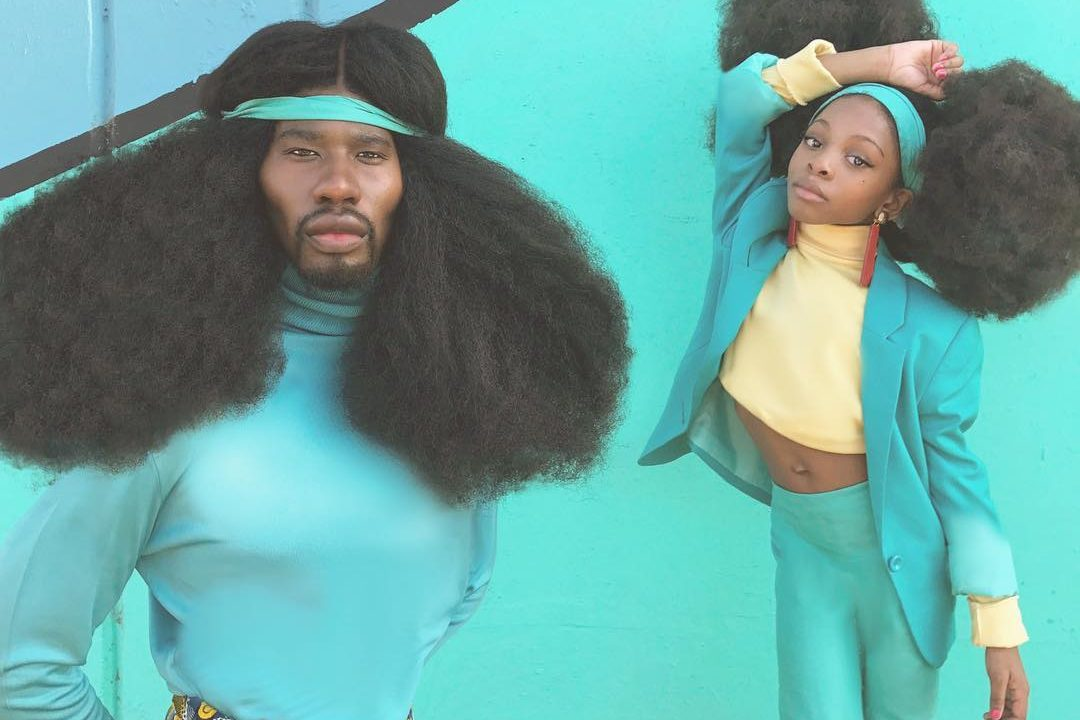 ENTITY discusses how Benny Harlem helps his daughter love her natural hair