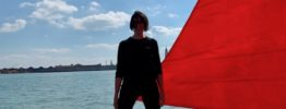 Melissa McGill addresses climate change and mass tourism in Venice with Red Regatta